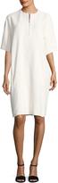 Celine Women's Front Zipper Midi Dress