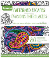 Crayola Aged Up Patterned Adult Colouring Book
