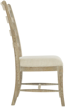 Bernhardt Rustic Patina Ladderback Side Chairs Set of Two
