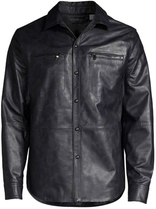 Robert Graham Gable Leather Jacket