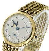 Breguet Classique Moon Phase 18K Yellow Gold 33mm Watch