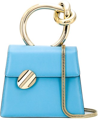 Benedetta Bruzziches Round Handle Mini Bag