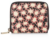 Whistles Star Print Small Leather Wallet