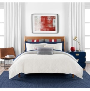 Tommy Hilfiger Quilted Monogram 2 Piece Twin Duvet Set Bedding