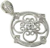 Leslie Greene Eva 925 Sterling Silver with 0.21ct Diamond Pendant