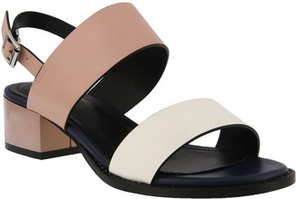 Spring Step Azura by Color-Block Slingback Sandals - Vonara