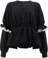 Preen by Thornton Bregazzi pleated sweatshirt