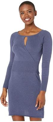 Prana Sonatina Dress (Midnight Dew Heather) Women's Dress