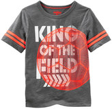 "Osh Kosh Boys 4-12 King of the Field"" Soccer Graphic Tee"