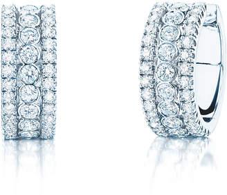Birks Splash 1.17ct Diamond Hoop Earrings