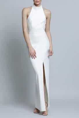 Lumier Drape Back Gown