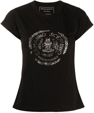 Ermanno Scervino embellished logo T-shirt