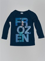 Junk Food Clothing Girls Frozen Graphic Raglan-new Navy-l