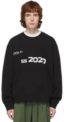 Xander Zhou Black 2020 Sweatshirt