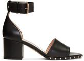 Valentino Black Soul Rockstud Sandals