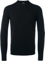 Giorgio Armani crew neck jumper - men - Polyester/Virgin Wool - 50