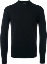 Giorgio Armani crew neck jumper - men - Polyester/Virgin Wool - 56