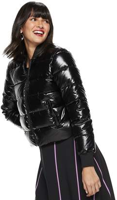 Nine West Petite Cropped Puffer Jacket