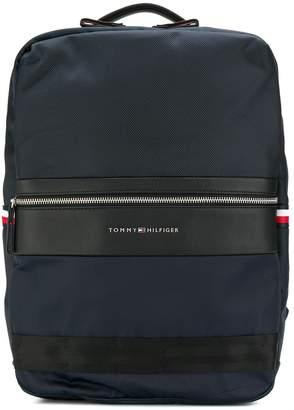 Tommy Hilfiger structured panelled backpack
