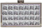 La Sera Brianne Crystal Box Evening Clutch Bag, Multi