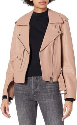 Joie Women's Classic Moto Leather Jacket