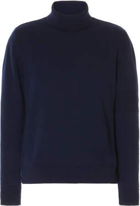 Maison Margiela Ribbed Jersey Turtleneck Sweater