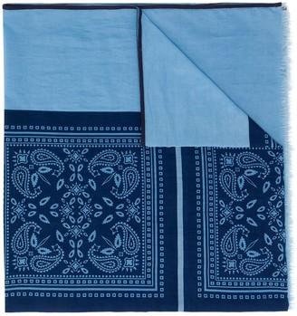 Altea Mocador paisley print scarf