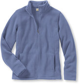 L.L. Bean Women's Comfort Fleece, Stand-Up-Collar Jacket