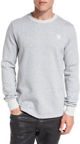 G Star G-Star Core Side-Zip Sweatshirt, Gray Heather