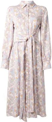 Rebecca Vallance Fleur midi shirt dress