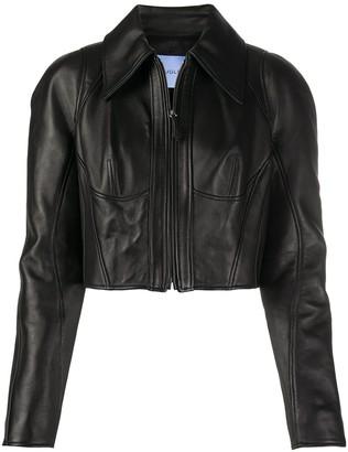 Thierry Mugler Zipped-Up Jacket