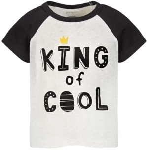 First Impressions Baby Boys King Of Cool T-Shirt, Created for Macy's