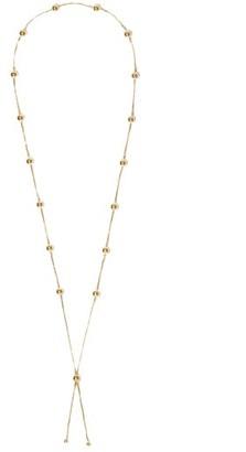 Bottega Veneta Short 18kt Gold-plated Bolero Necklace - Gold