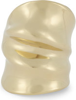 Annelise Michelson Draped gold-toned ring