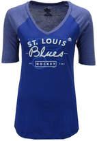 Majestic Women's St. Louis Blues My Team Raglan T-Shirt