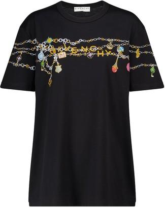 Givenchy Logo cotton jersey T-shirt