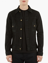 Edwin Black Classic Denim Jacket