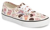 Vans Girl's Glitter Ice Cream Authentic Sneaker
