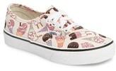 Vans Toddler Girl's Glitter Ice Cream Authentic Sneaker