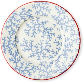 Blue Pheasant Sienna Coral Bread/Cupcake Plates, Set of 4
