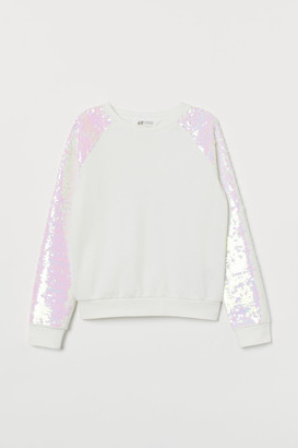 H&M Sweatshirt with sequins
