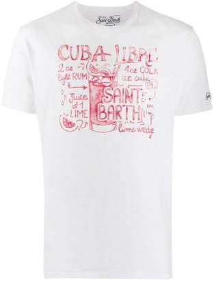MC2 Saint Barth Cuba Libra print T-shirt