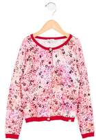 Paul Smith Girls' Floral Print Button-Up Cardigan w/ Tags