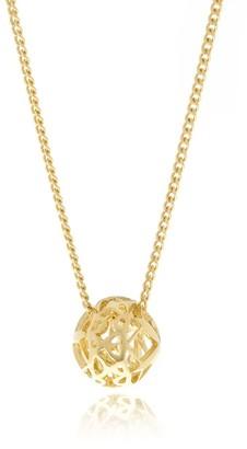 Georgina Jewelry Signature Gold Mini Sphere Necklace