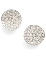 Bony Levy Women's Aurelia Diamond Concave Stud Earrings (Nordstrom Exclusive)