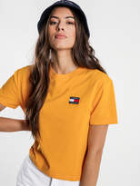Tommy Hilfiger Tommy Jeans Badge T-Shirt in Golden Glow