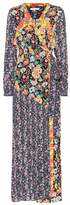 Frame Floral-printed maxi wrap dress