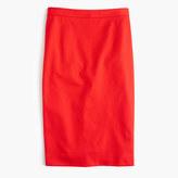 J.Crew Tall pencil skirt in bi-stretch cotton