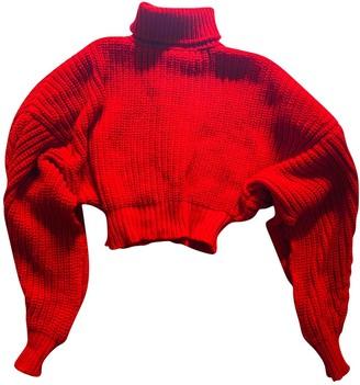 Awake Red Wool Knitwear for Women