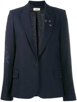Zadig & Voltaire Zadig&Voltaire Victor crystal-embellished blazer